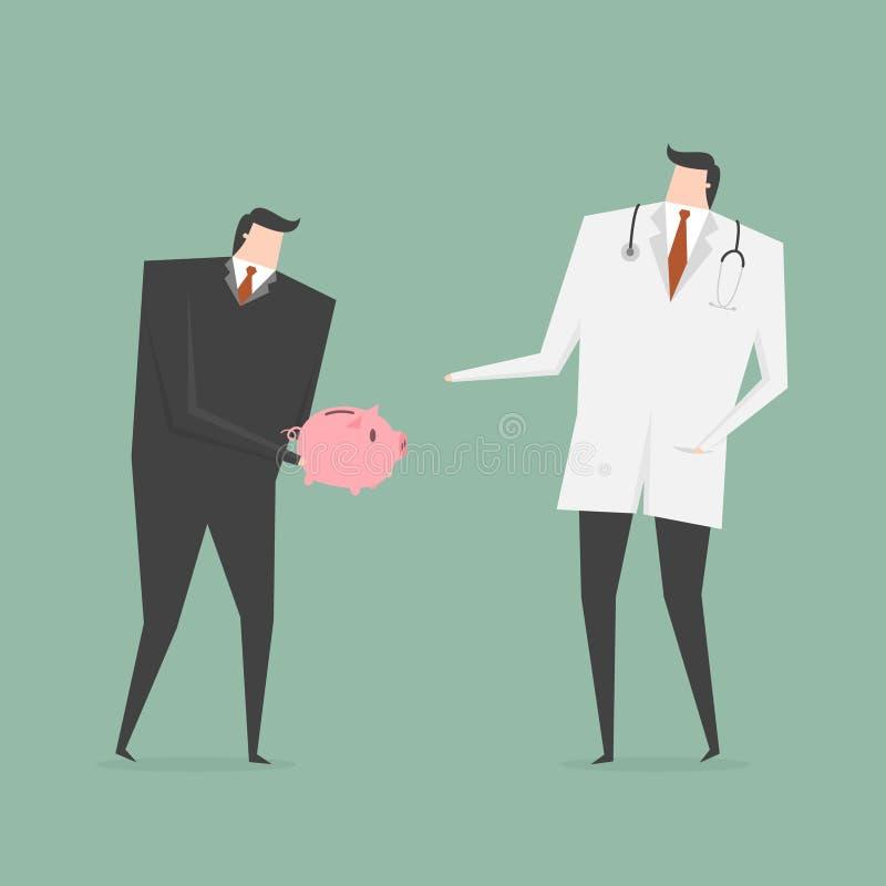 Κόστος υγειονομικής περίθαλψης απεικόνιση αποθεμάτων