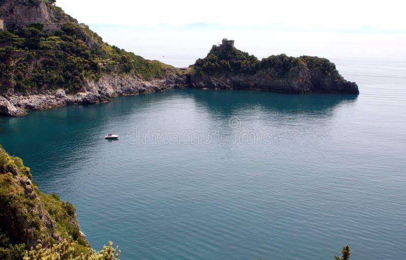 Κόλπος Ιταλία Smeraldo dello Grotta στοκ φωτογραφία με δικαίωμα ελεύθερης χρήσης