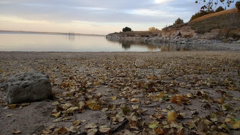 Κόλπος της Νεμπράσκας πτώσης άμμου λιμνών στοκ φωτογραφία με δικαίωμα ελεύθερης χρήσης