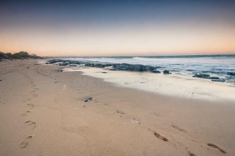Κόλπος του Jeffrey ` s, ακρωτήριο ανατολικό, Νότια Αφρική στοκ φωτογραφίες