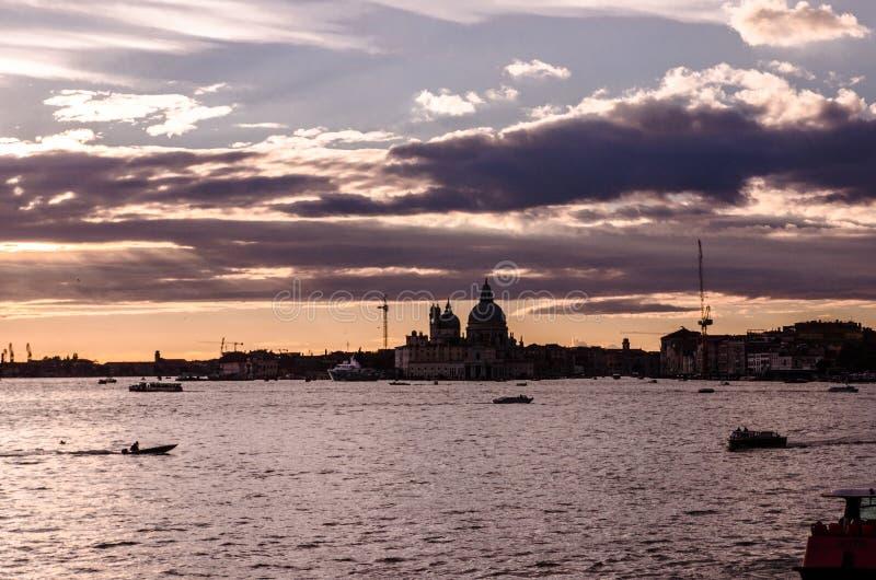 Κόλπος του SAN Marco και του Di Σάντα Μαρία βασιλικών στοκ εικόνες
