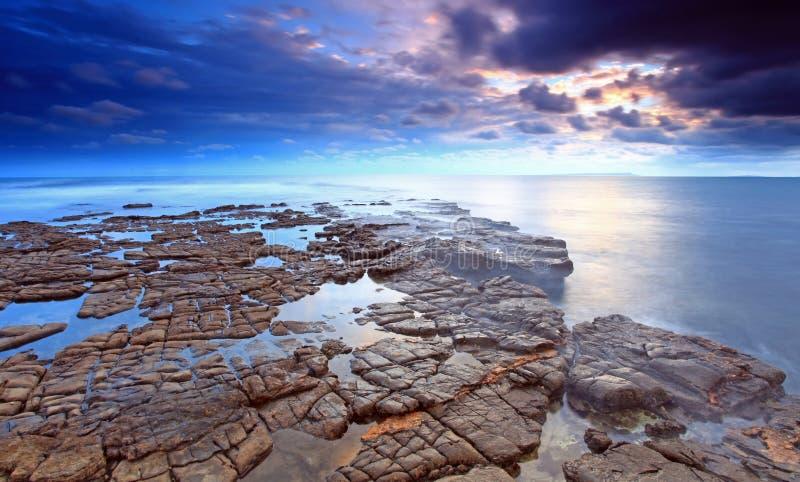 Κόλπος Dorset Kimmeridge στοκ εικόνες με δικαίωμα ελεύθερης χρήσης