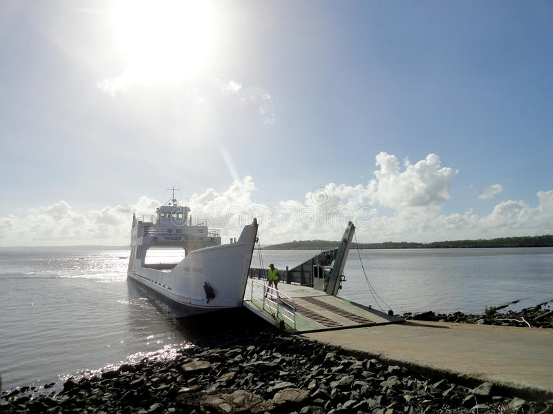 Κόλπος Hervey πορθμείων στο νησί Fraser στοκ φωτογραφία με δικαίωμα ελεύθερης χρήσης