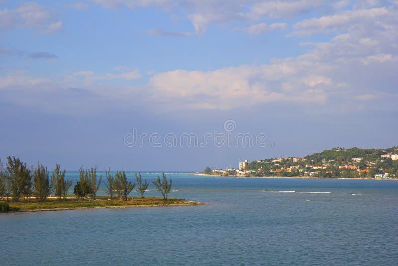 Κόλπος Montego, Τζαμάικα στοκ φωτογραφίες