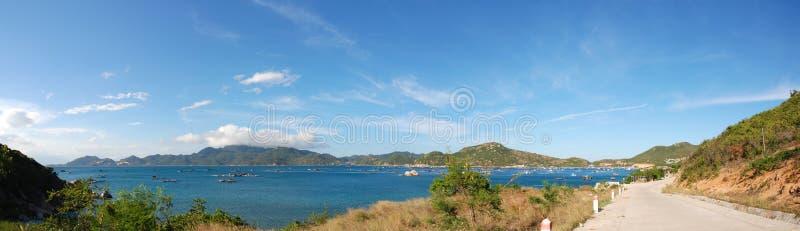 Κόλπος Ranh εκκέντρων - νησί BA Binh στοκ εικόνες με δικαίωμα ελεύθερης χρήσης