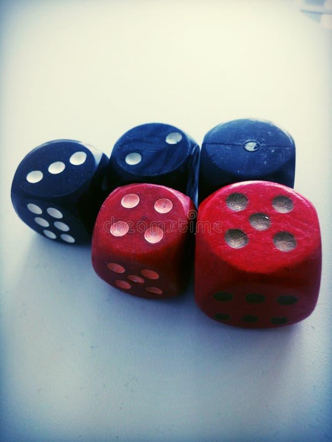 Κύβος για το παιχνίδι στοκ φωτογραφίες με δικαίωμα ελεύθερης χρήσης