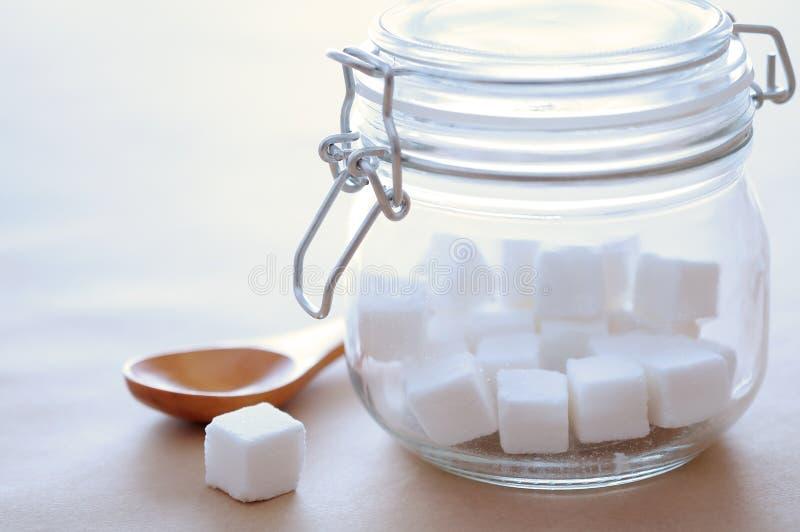 Κύβος ζάχαρης στοκ εικόνα