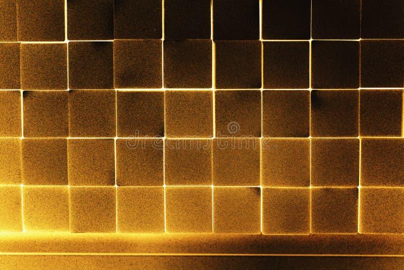 Κύβος μετάλλων σωρών στοκ εικόνα με δικαίωμα ελεύθερης χρήσης