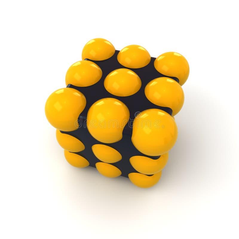 κύβος σφαιρών απεικόνιση αποθεμάτων