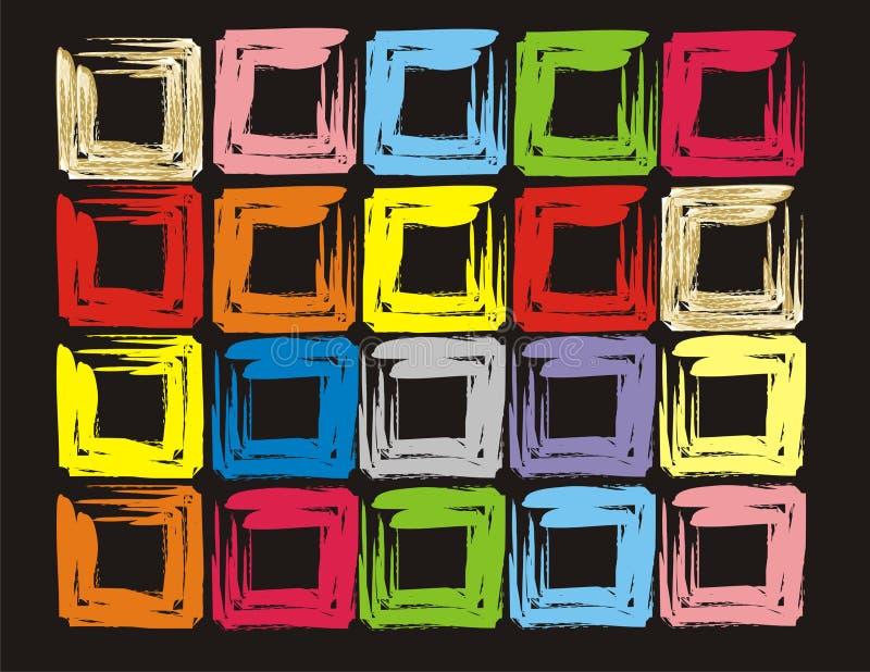 Κύβος χρώματος στοκ εικόνες