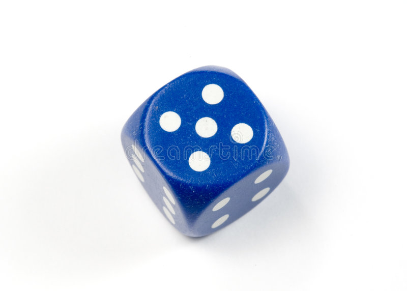 Download κύβος στοκ εικόνα. εικόνα από dice, πέντε, craps, vegas - 379907