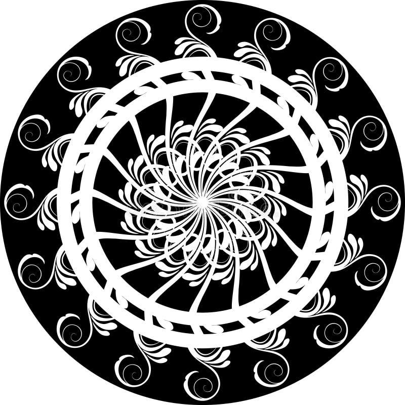 κύκλος διακοσμητικός απεικόνιση αποθεμάτων