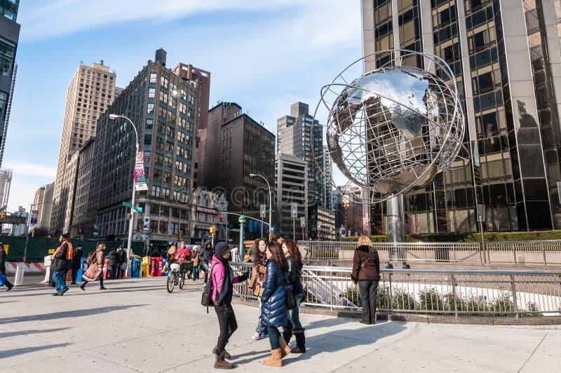Κύκλος του Columbus στη Νέα Υόρκη, Ηνωμένες Πολιτείες στοκ εικόνες με δικαίωμα ελεύθερης χρήσης