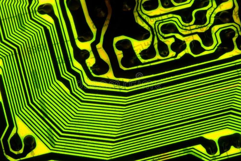 κύκλωμα χαρτονιών ηλεκτρ&o στοκ εικόνες με δικαίωμα ελεύθερης χρήσης