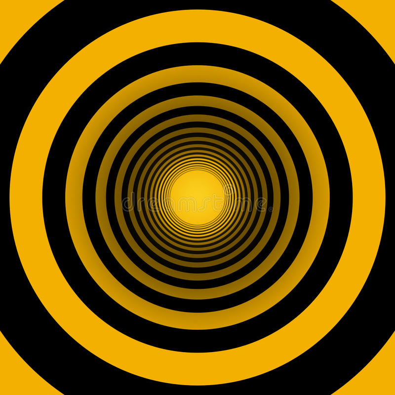 κύκλοι ομόκεντροι διανυσματική απεικόνιση