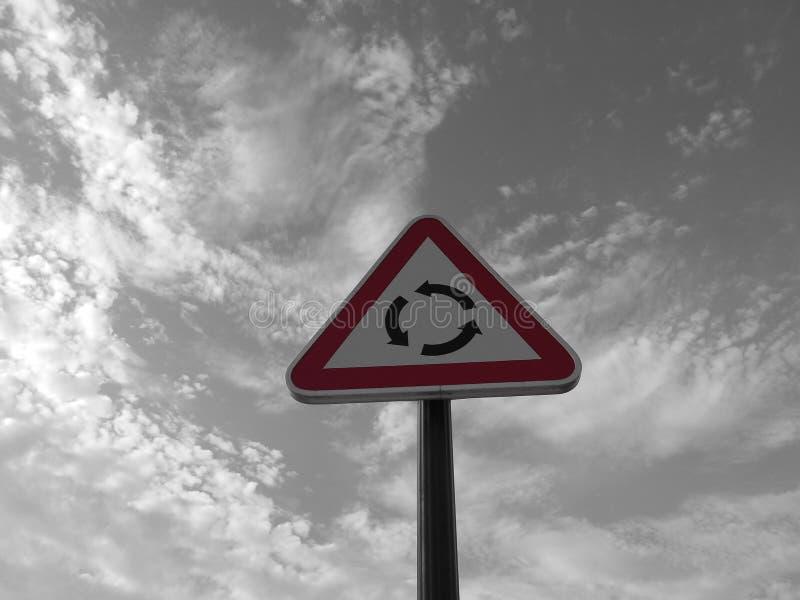 Κύκλος κυκλοφορίας στοκ φωτογραφίες με δικαίωμα ελεύθερης χρήσης