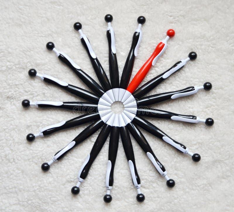 Κύκλος των μανδρών ballpoint στοκ φωτογραφία με δικαίωμα ελεύθερης χρήσης