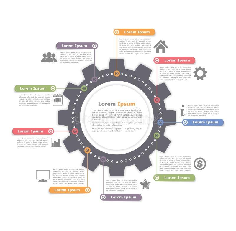 Κύκλος Infographics με το εργαλείο απεικόνιση αποθεμάτων