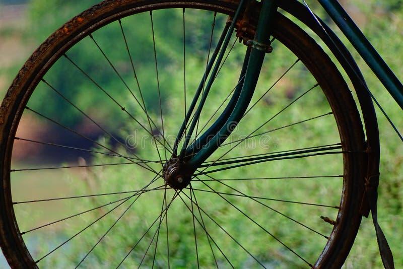 Κύκλος spokes στοκ εικόνες