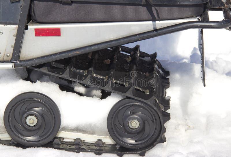 Κύλινδροι του οχήματος για το χιόνι στοκ φωτογραφία