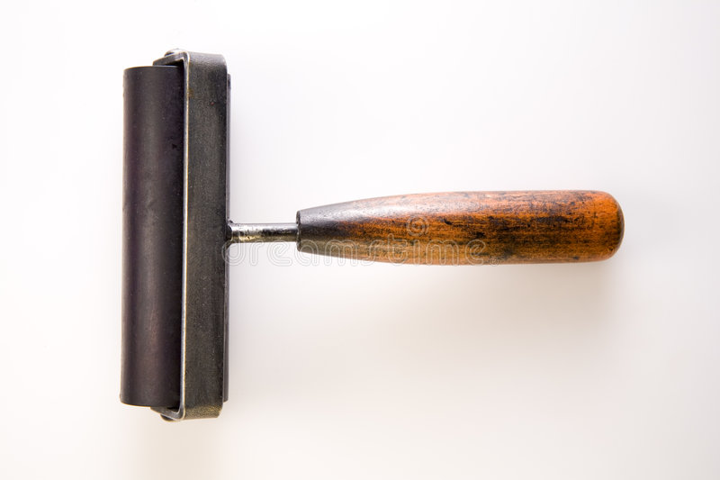 κύλινδρος μελανιού στοκ φωτογραφία με δικαίωμα ελεύθερης χρήσης