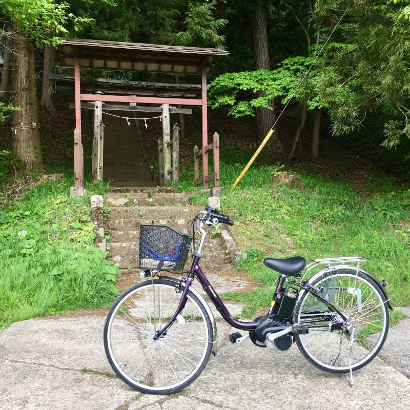 Κύλισμα στο ποδήλατο στοκ εικόνα με δικαίωμα ελεύθερης χρήσης