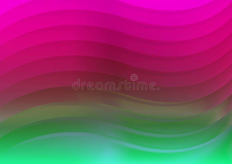 κύματα ανασκόπησης απεικόνιση αποθεμάτων