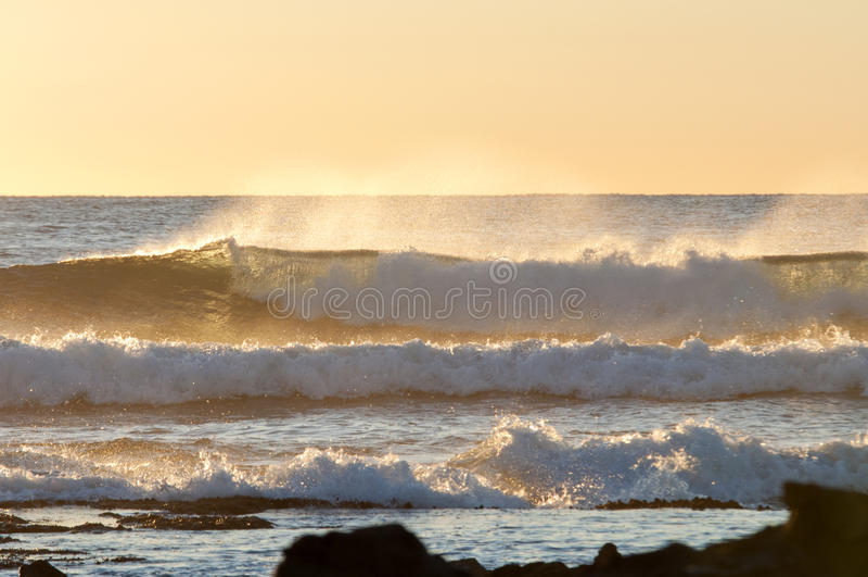 Κύματα ανατολής στοκ εικόνες