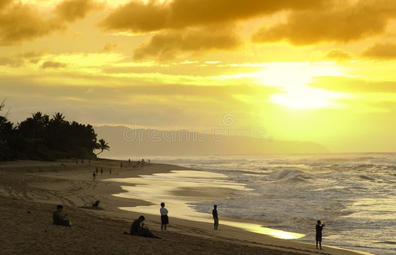 κύματα βόρειων ακτών στοκ εικόνες με δικαίωμα ελεύθερης χρήσης