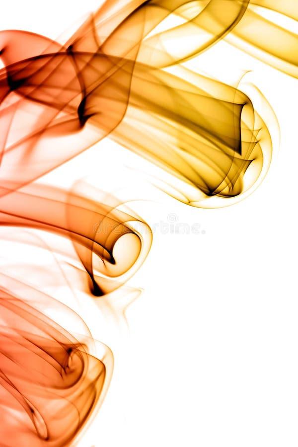 Κύματα καπνού στοκ εικόνα