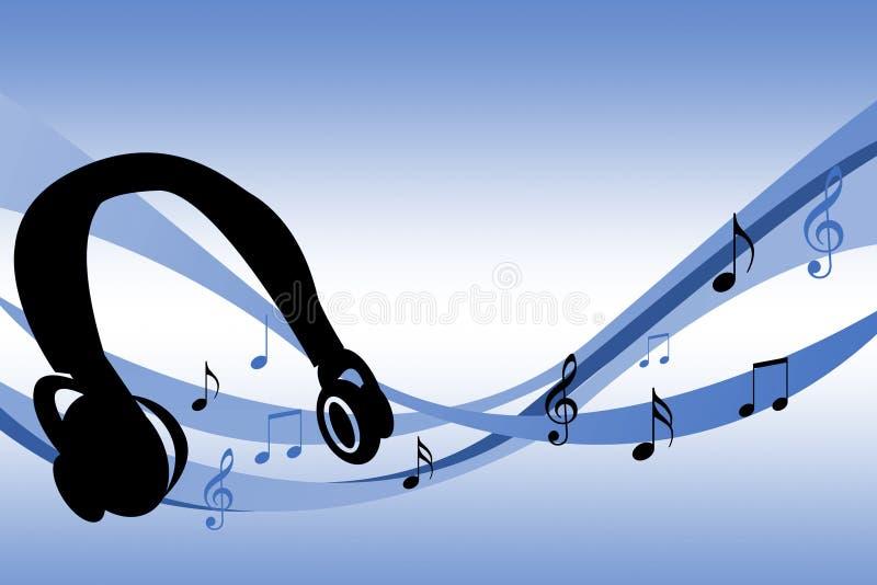 Κύματα μουσικής στοκ εικόνα με δικαίωμα ελεύθερης χρήσης