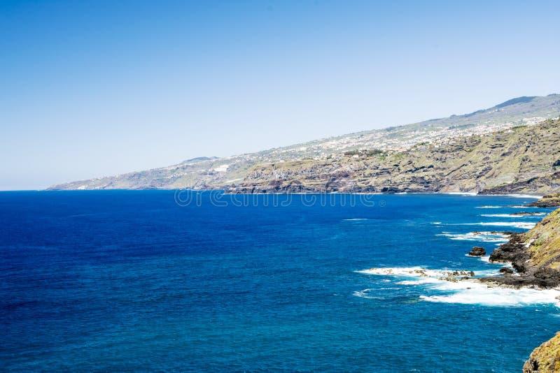 Κύματα στον Ατλαντικό Ωκεανό στοκ εικόνες με δικαίωμα ελεύθερης χρήσης