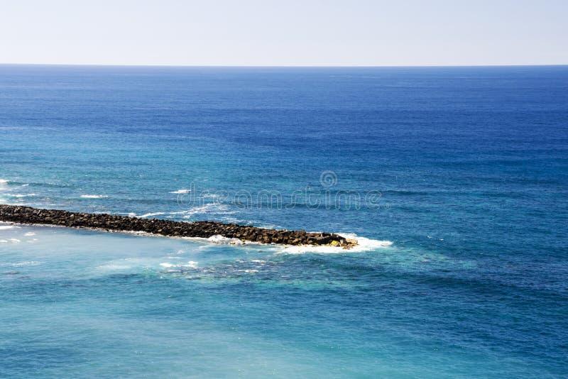 Κύματα στον Ατλαντικό Ωκεανό στοκ εικόνες