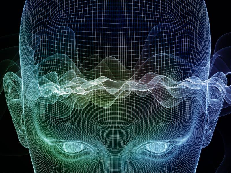 Κύματα του λόγου διανυσματική απεικόνιση