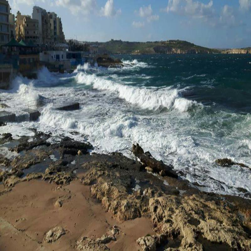 Κύματα στοκ φωτογραφία