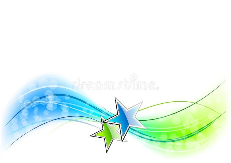 κύμα αστεριών ελεύθερη απεικόνιση δικαιώματος