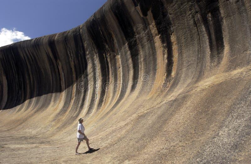 κύμα βράχου της Αυστραλί&alpha στοκ εικόνες με δικαίωμα ελεύθερης χρήσης