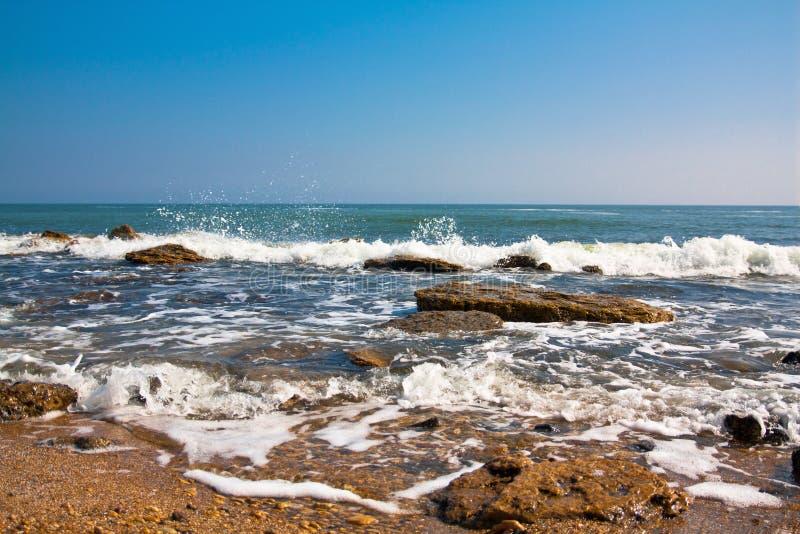 κύμα θάλασσας τοπίων στοκ φωτογραφία