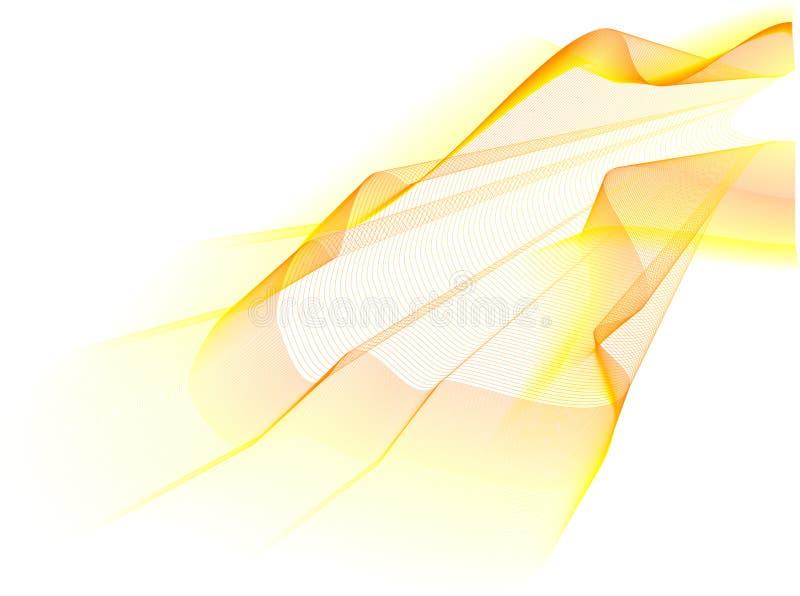 κύμα κίτρινο απεικόνιση αποθεμάτων