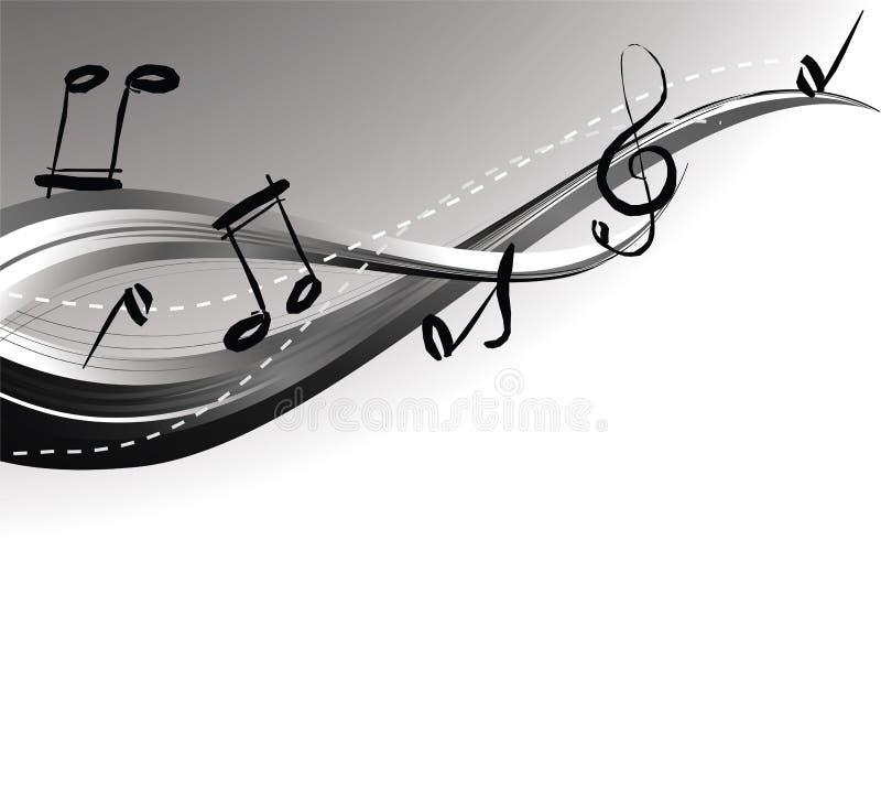 κύμα μουσικής διανυσματική απεικόνιση