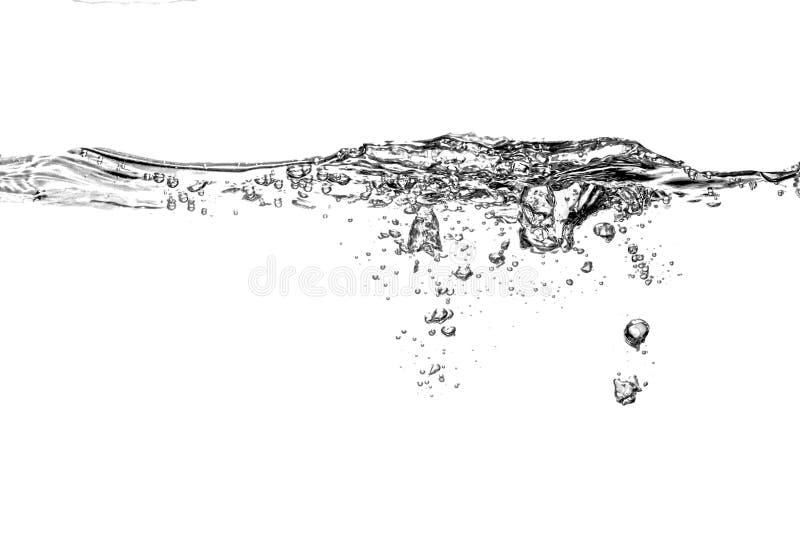 Κύμα νερού υποβάθρου στοκ φωτογραφίες