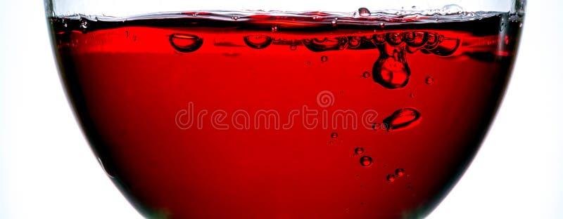 Κύμα στενού επάνω κόκκινου κρασιού στοκ εικόνα με δικαίωμα ελεύθερης χρήσης