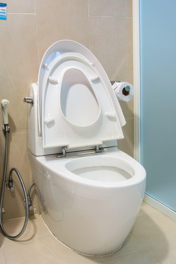 Κύπελλο τουαλετών στοκ εικόνα