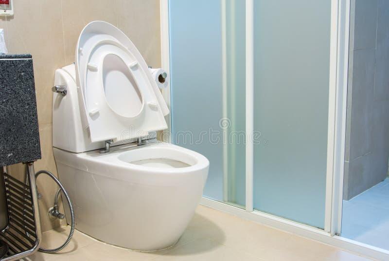 Κύπελλο τουαλετών στοκ εικόνες
