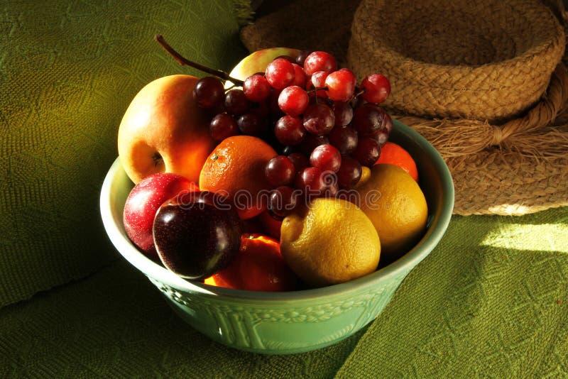 Κύπελλο φρούτων στοκ εικόνα