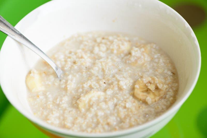 Κύπελλο oatmeal στοκ φωτογραφία