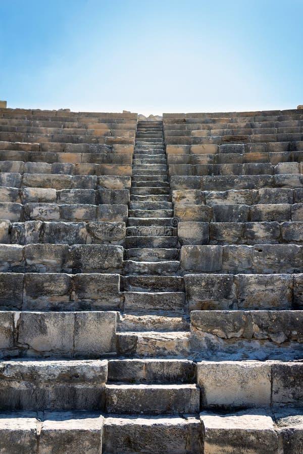 Κύπρος αρχαίο Κούριο Ampitheatre στοκ φωτογραφίες με δικαίωμα ελεύθερης χρήσης