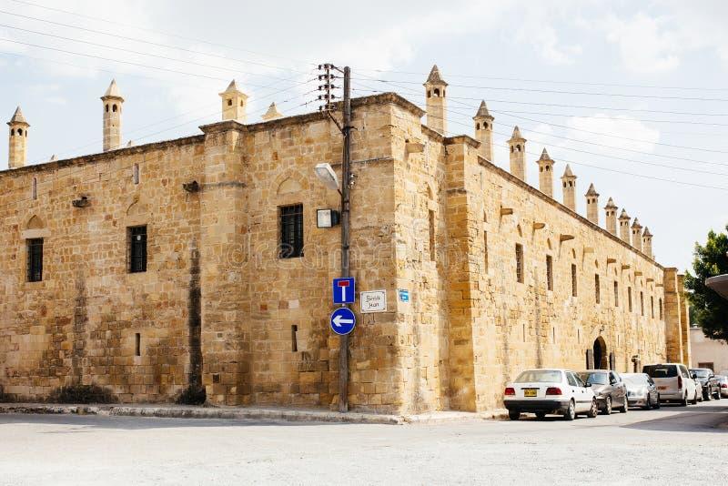 Κύπρος Han Buyuk βόρεια (το μεγάλο πανδοχείο) στοκ φωτογραφία με δικαίωμα ελεύθερης χρήσης