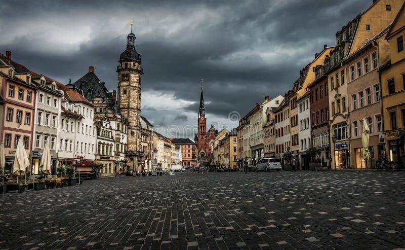 Κύρια πλατεία του Άλτενμπουργκ, Γερμανία στοκ εικόνες