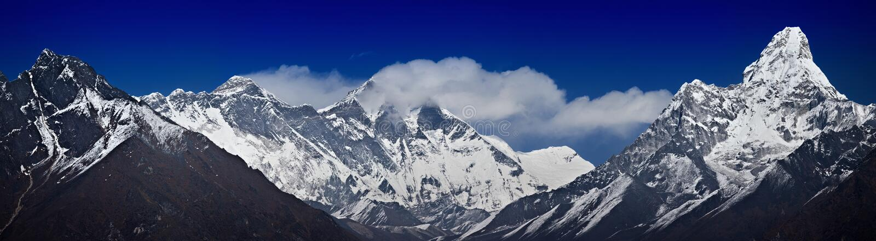 Κύρια σειρά Himalayan στοκ φωτογραφίες με δικαίωμα ελεύθερης χρήσης